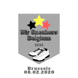 Mr Sneakers Belgium 2020 logo
