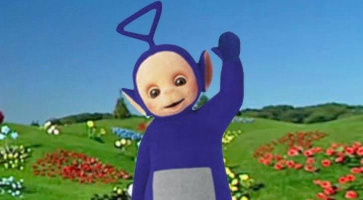 Tinky Winky, the purple teletubby