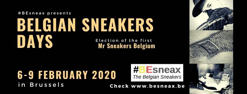 Banner Belgian Sneakers Days