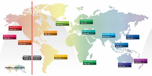 Global Pride - Time Map